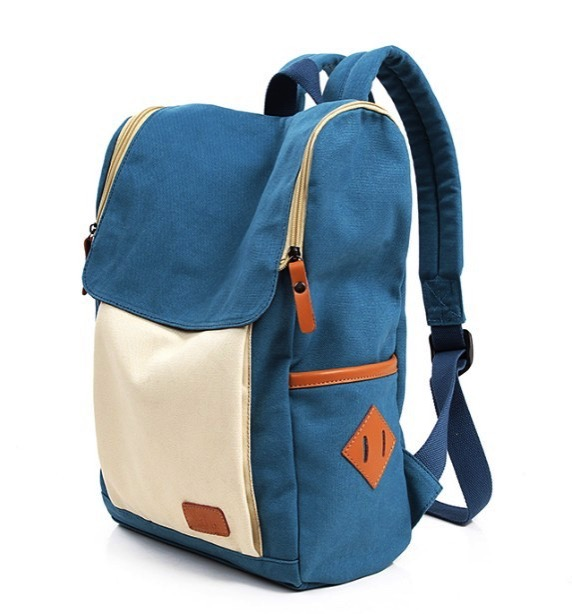 Canvas satchel girls backpack backpacks in style