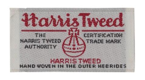 Harris tweed label large