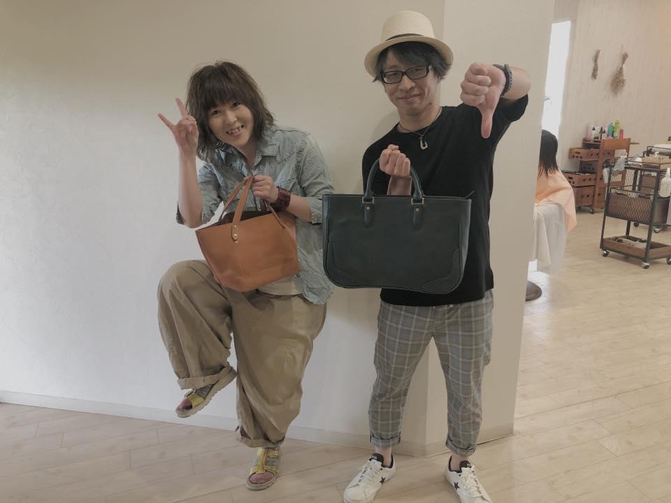 左が久美子さん(奥さん)右がオーナーさん