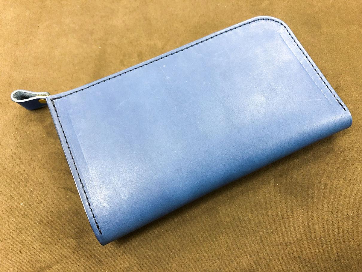 maineで作ってすぐのお財布
