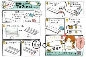 キッチンペーパーマスクの作り方